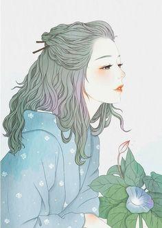 ☁ - 𝒉 𝒐 𝒏 𝒆 𝒚 𝒚 𝒎 𝒊 𝒍 𝒌 ☁ ┊ ᴀɴɪᴍᴇ ᴀʀᴛ in 2019 anime art, anime ar Film Manga, Manga Art, Manga Anime, Anime Alone, Aesthetic Art, Aesthetic Anime, Pretty Art, Cute Art, Girl Cartoon
