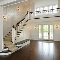 foyer staircase with 2 entrances | ... staircase spindles, two story foyer, two story entrance, foyer