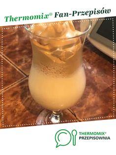Kawa po koreańsku - dalgona caffee jest to przepis stworzony przez użytkownika dewelinaa. Ten przepis na Thermomix<sup>®</sup> znajdziesz w kategorii Napoje na www.przepisownia.pl, społeczności Thermomix<sup>®</sup>. Tableware, Glass, Thermomix, Dinnerware, Drinkware, Tablewares, Corning Glass, Dishes, Place Settings