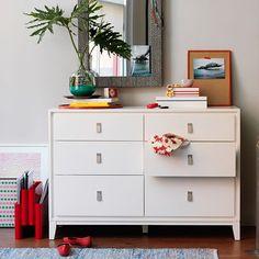 Niche 6-Drawer Dresser - White | West Elm