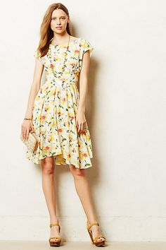 Pleated Matilija Dress #anthropologie #anthrofave