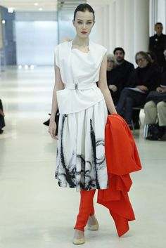Stéphanie Coudert stuck with an Oriental vibe for couture. [Photo by Giovanni Giannoni]