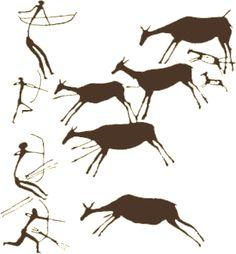 höhlenmalerei in los caballos, spanien                                                                                                                                                                                 Mehr