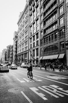 Soho - New York City: Take a bicycle ride down Broadway in one of Lower Manhattan's most popular neighborhoods.