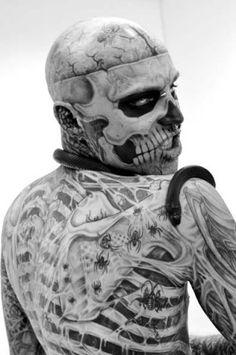 #Rick Genest #Zombie Boy #Rico the zombie