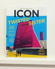 The #tatemodern #extension stars on the cover of @iconeye this month #icon #lifestyle #arts #architecture #design #nicholasserota #galleries #telaviv #helsinki #oslo #franciscosalamone #okisato #forgery