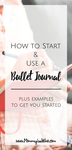 How to start and use a Bullet Journal