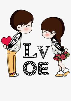 Love couple, love clipart, cartoon, lovers png transparent image and Love Cartoon Couple, Cute Love Cartoons, Cute Couple Art, Love Couple, Cute Cartoon, Love Wallpaper, Disney Wallpaper, Love Images, Love Pictures
