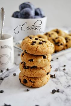 Healthy Cake, Sweet Recipes, Cookie Recipes, Biscuits, Bakery, Deserts, Cherry, Gluten Free, Sweets