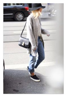 Casual style - slides bf jeans