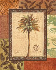 Palmaceae I Impressão artística