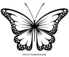 Image result for beautiful large butterfly stencil