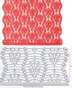 Best 12 Crochet Patterns Blusas (Video) learn how to crochet step by step now, click the photo. Crochet Ripple, Crochet Motifs, Crochet Diagram, Crochet Stitches Patterns, Crochet Chart, Crochet Lace, Free Crochet, Stitch Patterns, Knitting Patterns