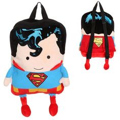 Who says this Superman plush backpack is just for kids!