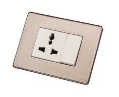 Decorative Brass Switch Plate