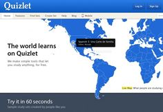 Quizlet fulfills all of your studying needs -- it has flashcards, quizzes you on terms, offers practice tests, and even has fun games to help you learn the material.20 Websites Every College Student Needs In Their Life | The Odyssey