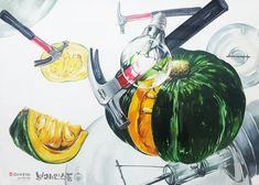 [기초디자인] 주제-호박, 전구, 망치 브레인스톰 안산입시미술학원 www.facebook.com/ansanbrainstorm/ blog.naver.com/yjkimlee7374