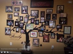 Family tree wall complete.