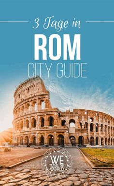 Rome in 3 days city guide with 17 great sights that everyone should see The best Rome tips for 3 days. Rome sights, travel tips, highlights reisetipps kurzurlaub Image: City days everyone Foodietravel great guide honeymoon kidssnacks Rome should si Rome Travel, Europe Travel Tips, Travel Usa, Travel Guide, Best Places In Europe, Cities In Europe, Europe Destinations, Rome Sights, 3 Days In Rome