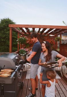 Family sized grill @webergrills | In Honor Of Design