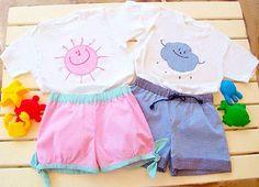 FUNNY Girl Shorts pattern Pdf sewing pattern plus por PUPERITA