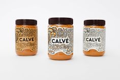 Calvé Peanut Butter's Whimsical Design — The Dieline - Branding & Packaging Design