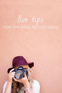 5 tips on creating video - If your one of the lot who confusingly forgets about this super awesome feature in their cameras. Here are 5 amazing tips on how to create unforgettable memories captured by video!