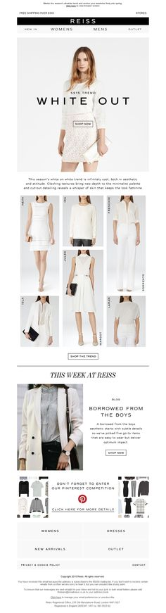 Reiss - White Hot Looks: Be Bold In Seductive White