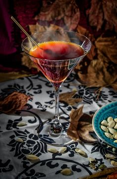 Warm Autumn Day Martini from Alessio Fangano for The Boys Club