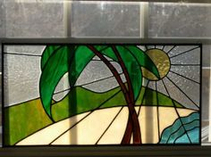 Let's Go To The Beach - Delphi Artist Gallery by Shards of Light Stained Glass
