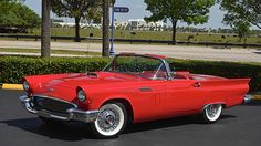 1957 Ford Thunderbird D-Code 312/245 HP, Kelsey Hayes Wheels presented as lot S56 at Kissimmee, FL 2016 - image1