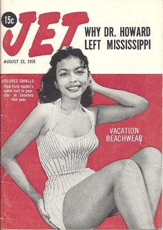 AUG 23 1956 JET MAGAZINE VOL.10 #16 (Dolores Smalls) Jet Magazine, Black Magazine, Life Magazine, Newspaper Cover, Newspaper Headlines, Ebony Magazine Cover, Magazine Covers, Essence Magazine, Vintage Black Glamour