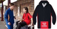 It's not cotton wool, but just as soft! Our Kieran Microfibre Jacket is perfect to send the kids to school…