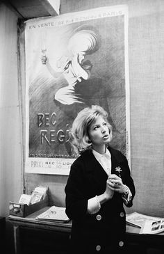 Monica Vitti and Michelangelo Antonioni photographed by Giancarlo Botti in Paris, 1960s