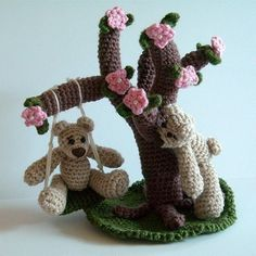 PDF Crochet Pattern - A Day in the Park - Part 1