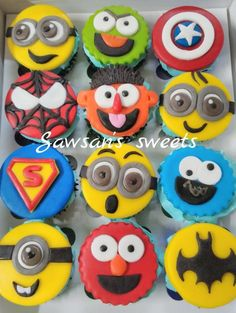 Cupcakes by Sawsan's sweets