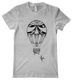 6c859003c Freak Fly Designs - HOT AIR BALLOON TEE! This hot air balloon design is part