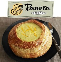 Panera bread soup bowls! Best invention everrrrrr!!!