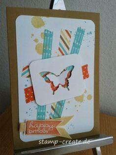 Stamp and Create: Schmetterlinge im Bauch