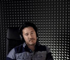 Mark not wanting to listen to creepy sounds in FNAF<< I thought this was from when he was playing until dawn