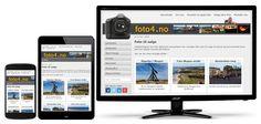 Foto4.no er en Joomla webside som selger fotografier i store oppløsninger til både presse, bedrifter og til innramming for private.