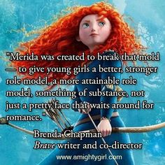 And also want to be inspired to become amazing archers!!! Merida - Brave