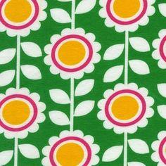 Ann Kelle - Remix Knits - Flowers in GREEN