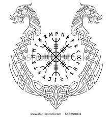 Bildergebnis für aegishjalmur tattoo designs
