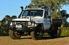 Classic Car News Pics And Videos From Around The World Land Cruiser Pick Up, Land Cruiser 70 Series, Toyota Cruiser, Fj Cruiser, Landcruiser Ute, Toyota Hilux, Toyota 4x4, Toyota Trucks, Car Nursery