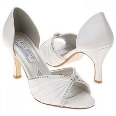 06d70ccd9e1 Liz Rene by Benjamin Walk Addison Shoes (White Silk Satin) - Women s Wedding  Shoes - M