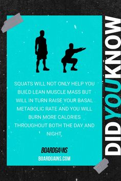 Did you know? Fun fitness fact of the day. Fitness Facts, Group Fitness, Fun Workouts, At Home Workouts, Basal Metabolic Rate, Social Well Being, Fact Of The Day, Muscle Mass, Health And Nutrition