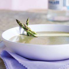 101 Healthy Soup Recipes | Cream of Asparagus Soup | CookingLight.com