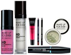 Produtos de maquiagem da marca Make Up For Ever chegam ao Brasil com linha completa de base, blush, corretivo, sombras, rimeis e batons. Blog de moda