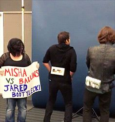 I'm SO HAPPY I found this!!! Damn Jared! I thought Jensen had the booty!